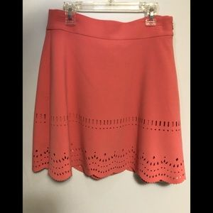 Light orange skirt